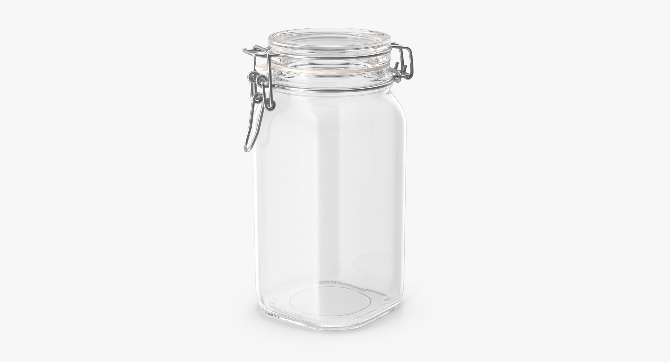 Hinged Glass Kitchen Jars 01 - reel 1
