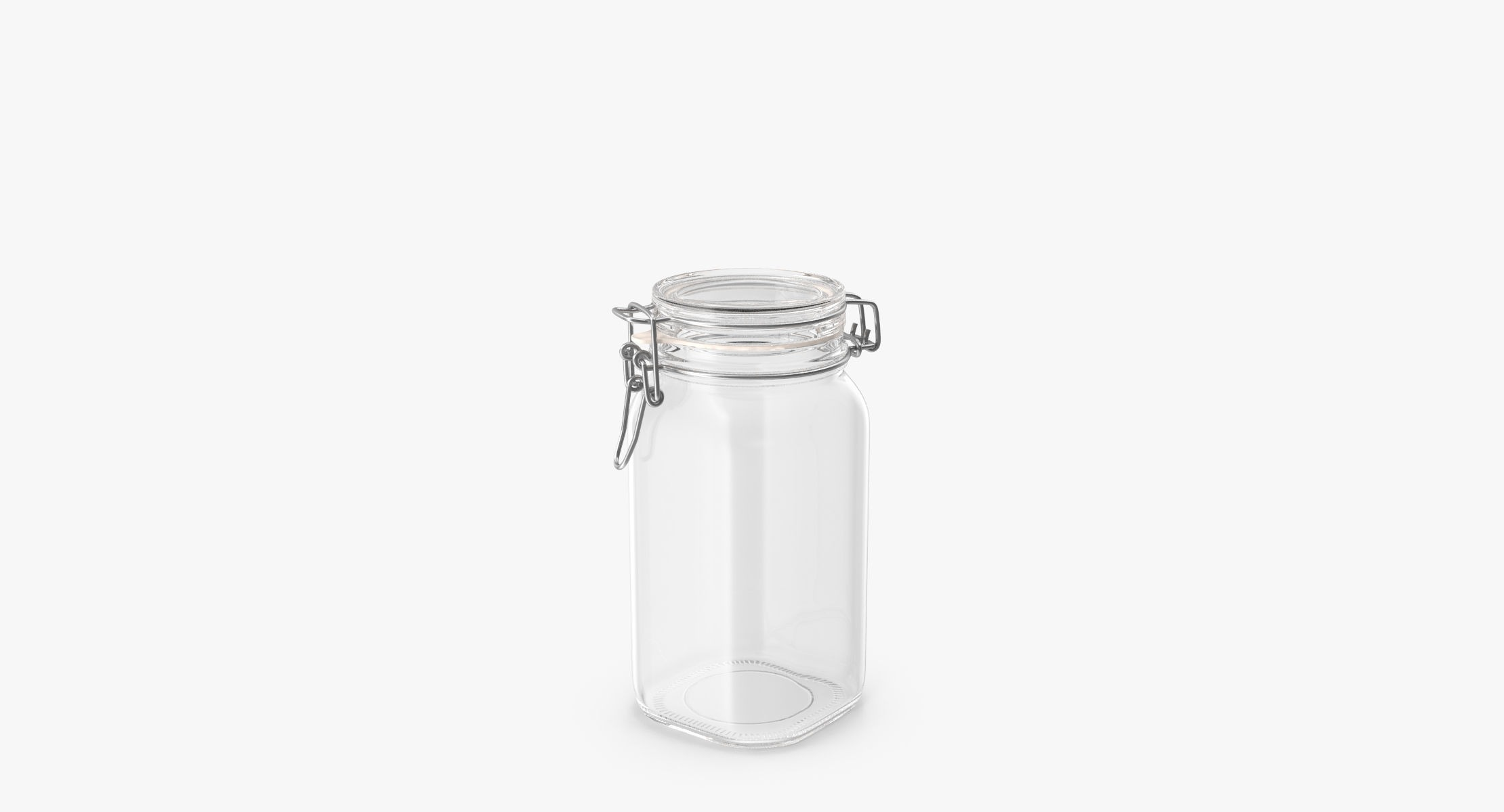 Hinged Glass Kitchen Jars 01 - reel 2