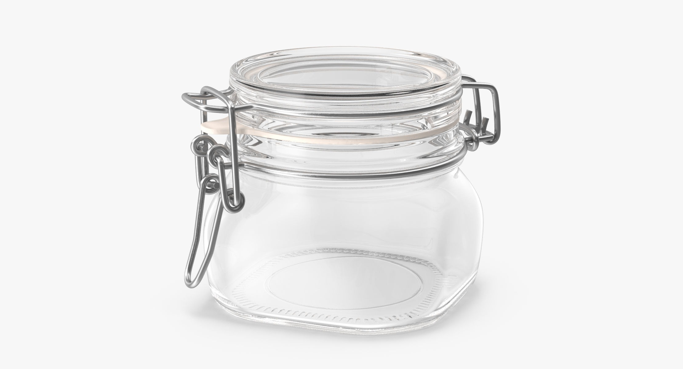 Hinged Glass Kitchen Jars 03 - reel 1
