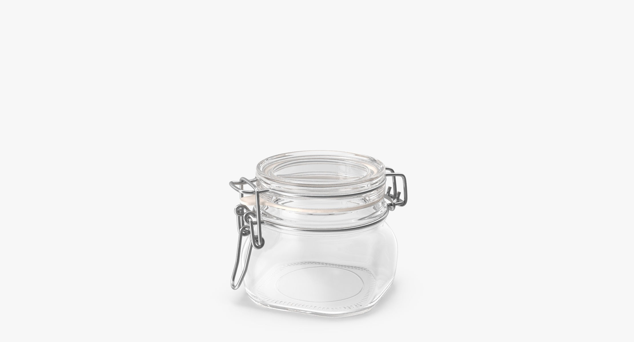 Hinged Glass Kitchen Jars 03 - reel 2