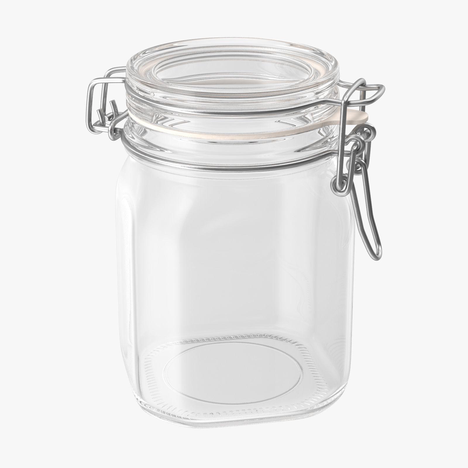 Hinged Gl Kitchen Jars 02 Tornado Studios