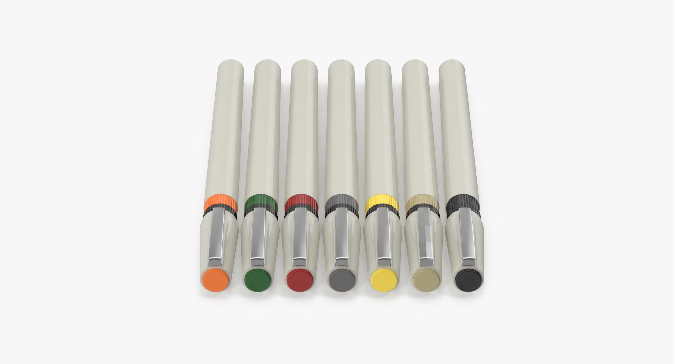Artist Pens 01 - reel 1