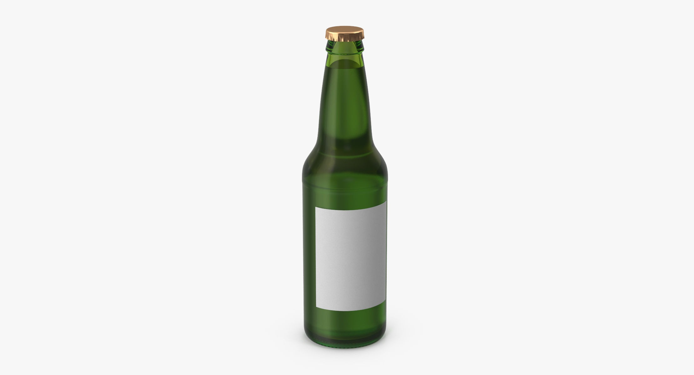 Beer Bottle Green - reel 1