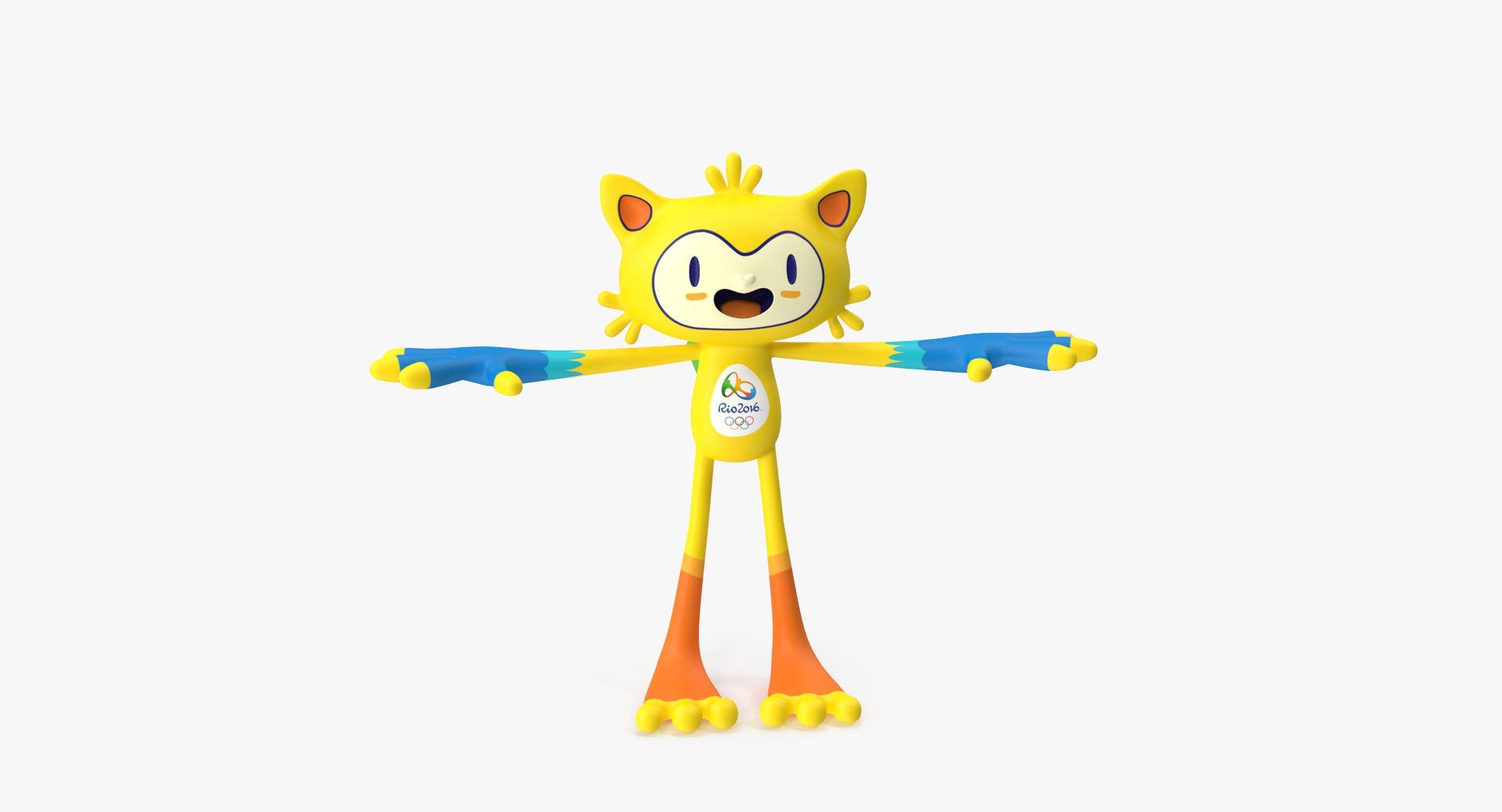 Mascot Vinicius RIGGED - reel 1