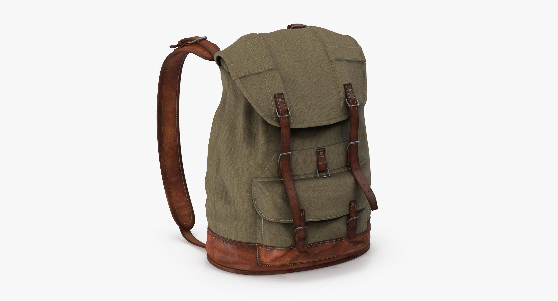 Travel Backpack Standing 01 - reel 1