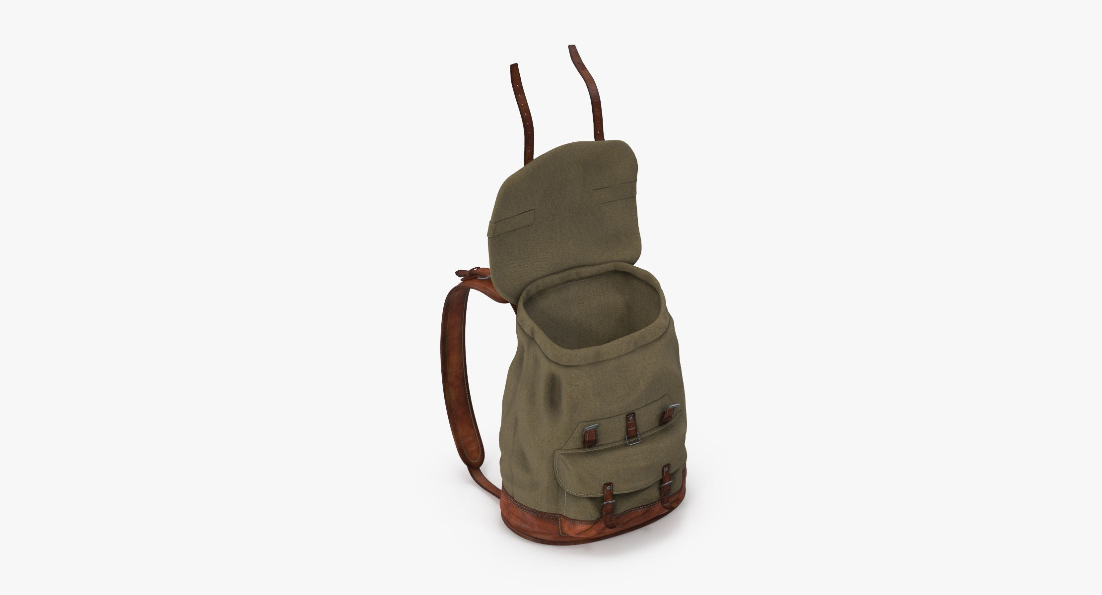 Travel Backpack Standing Open 01 - reel 1