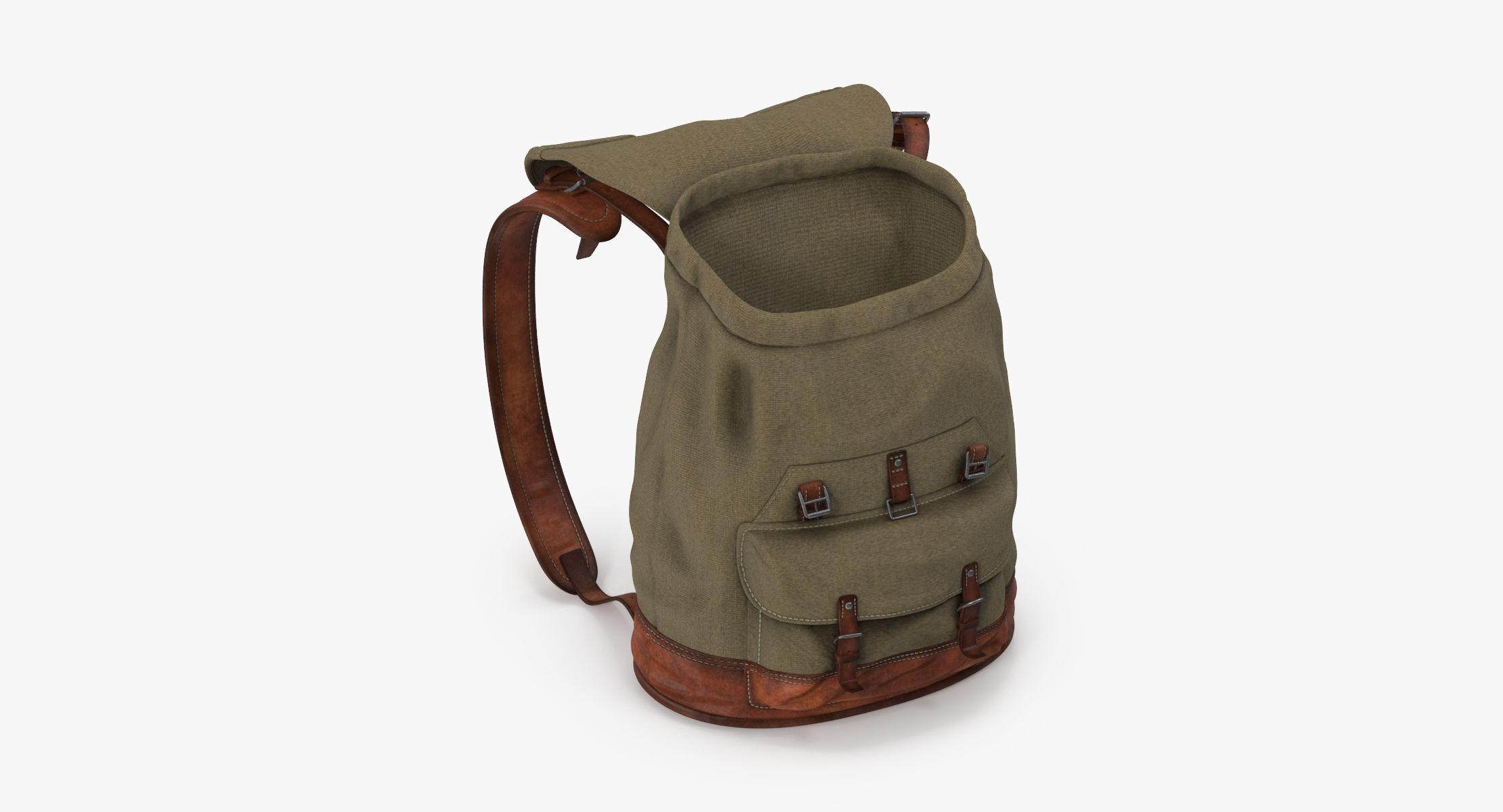 Travel Backpack Standing Open 02 - reel 1