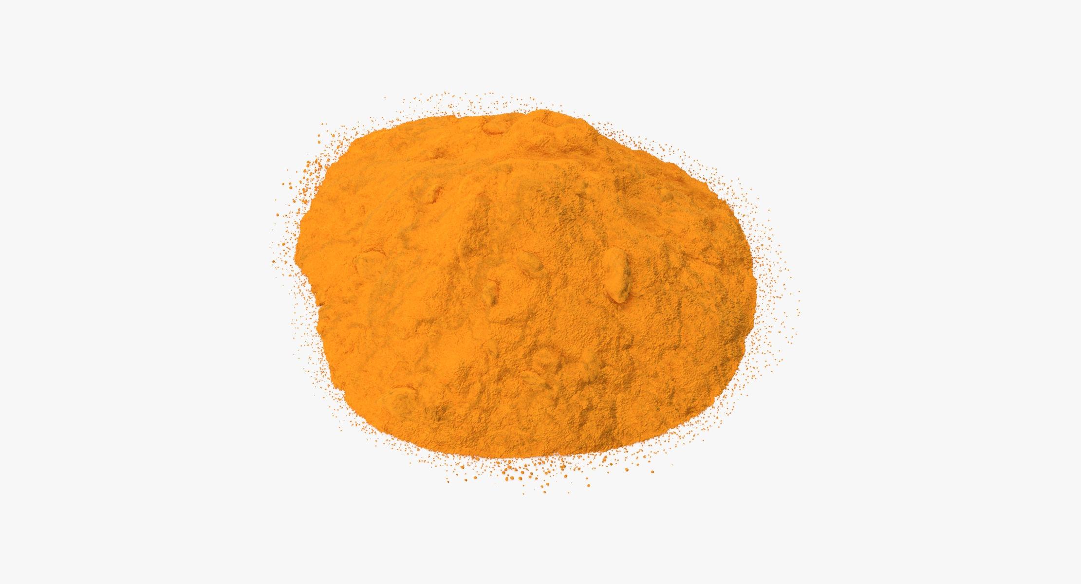 Powdered Turmeric - reel 1