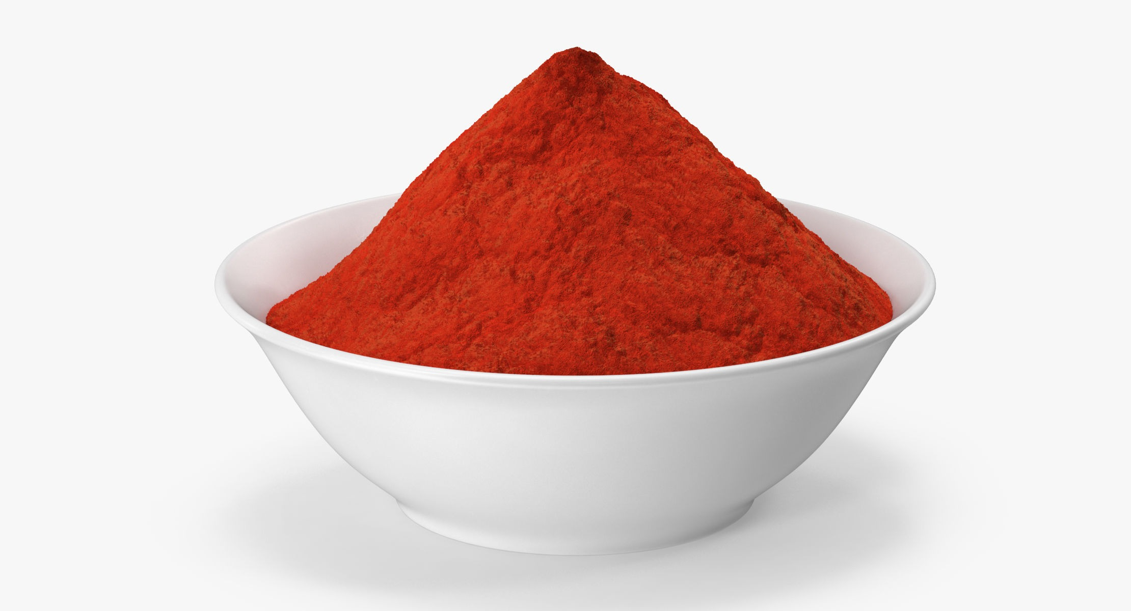 Bowl of Red Curry Powder - reel 1