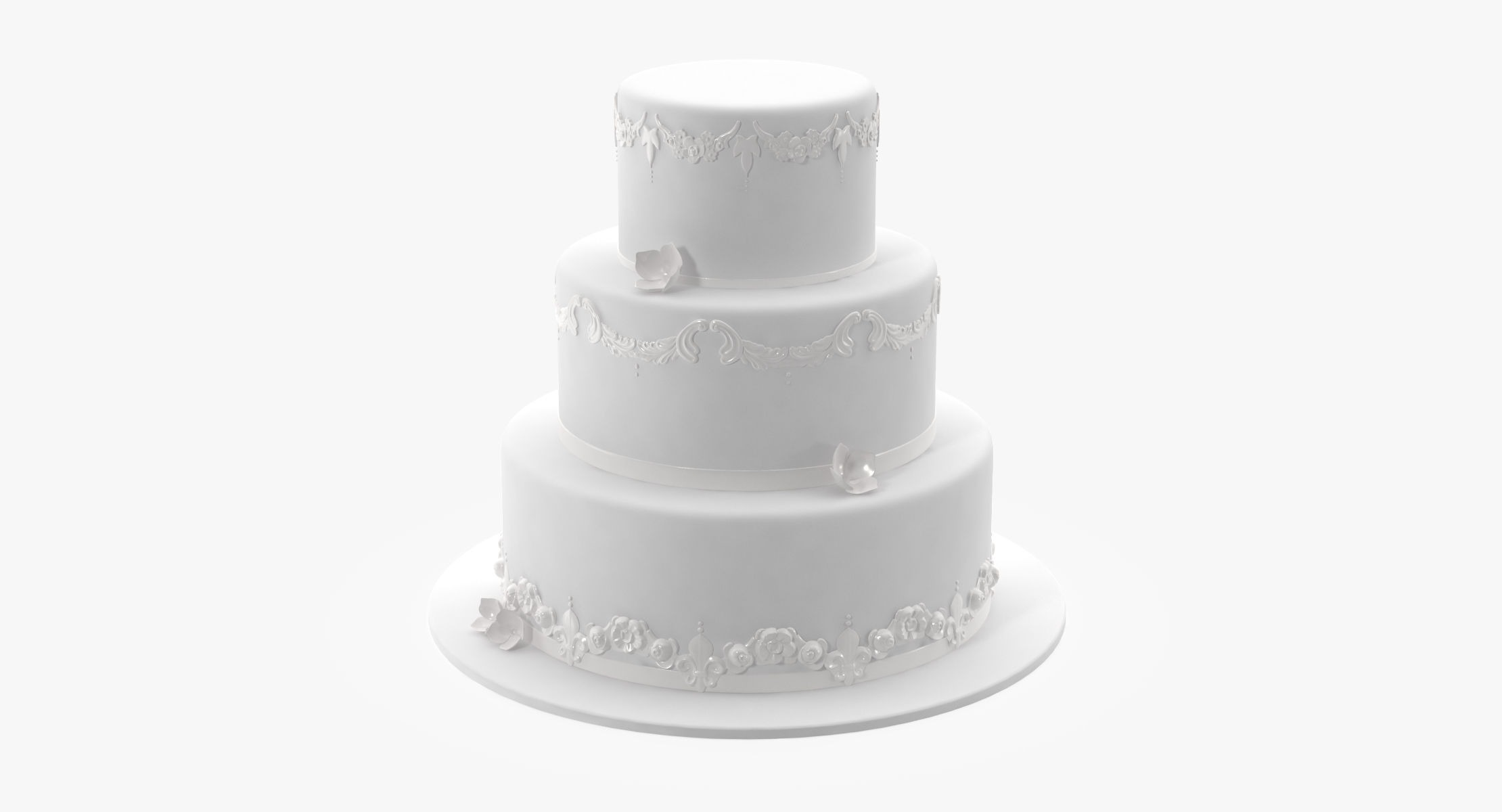 Round Wedding Cake - reel 1