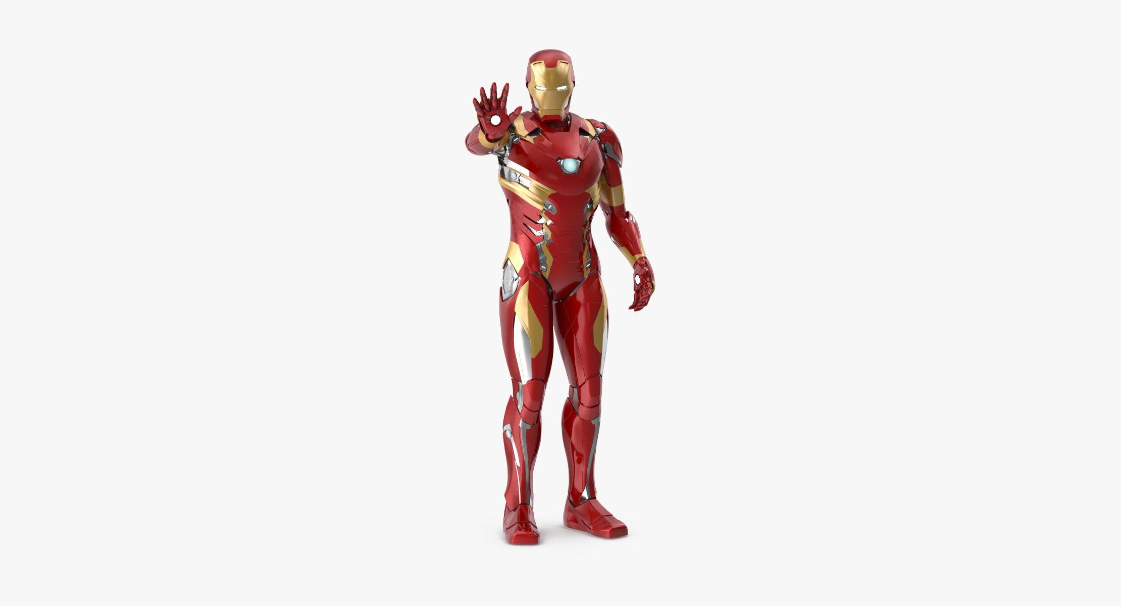 Iron Man Mark 46 - Warning Pose - reel 1