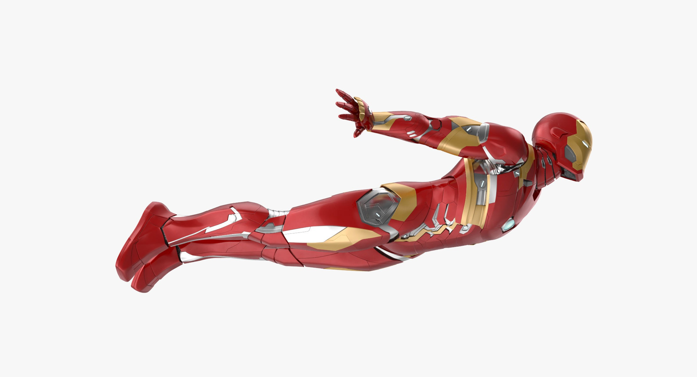 Iron Man Mark 46 - Flying Pose - reel 1