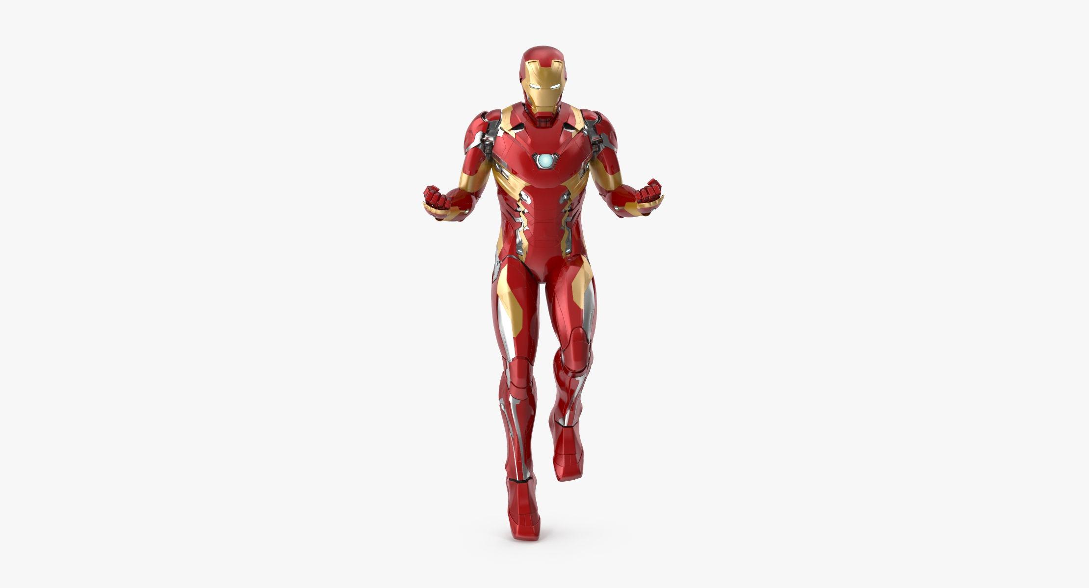 Iron Man Mark 46 - Taking Off Pose - reel 1