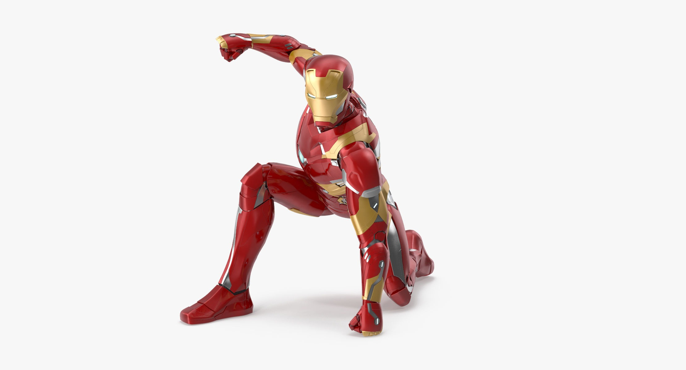 Iron Man Mark 46 - Landing Pose - reel 1