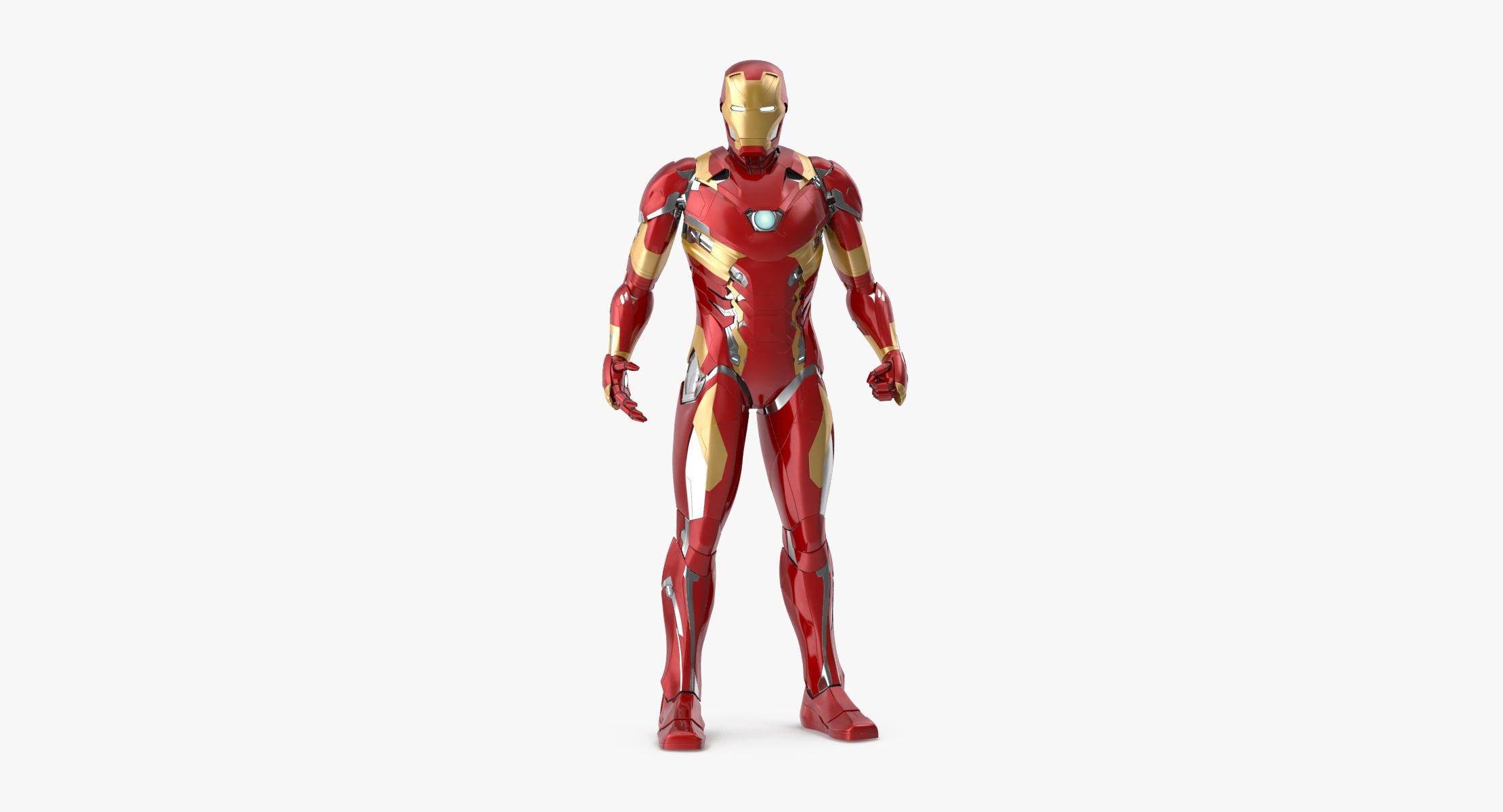 Iron Man Mark 46 - Fighting Pose - reel 1