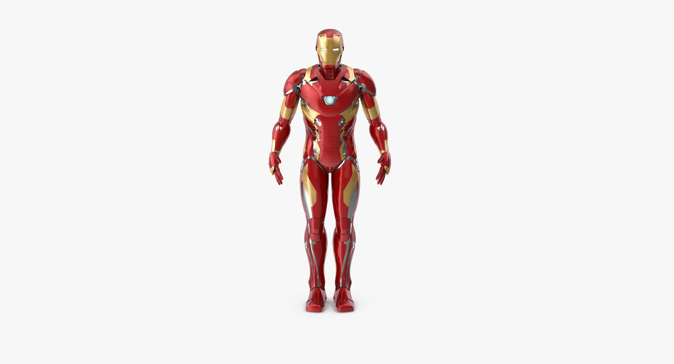 Iron Man Mark 46 - Rigged - reel 1