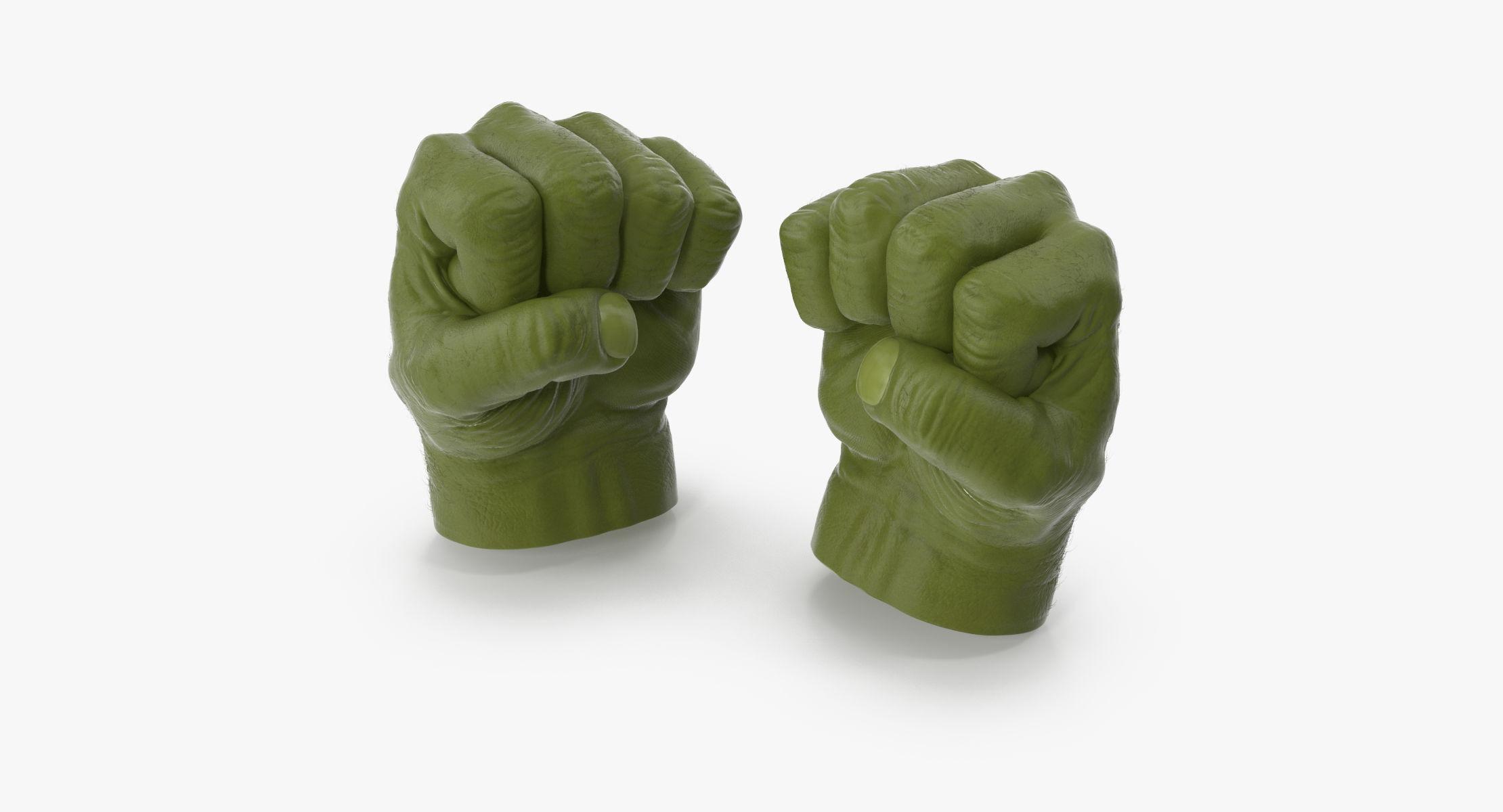 Hulk Hands Closed - reel 1