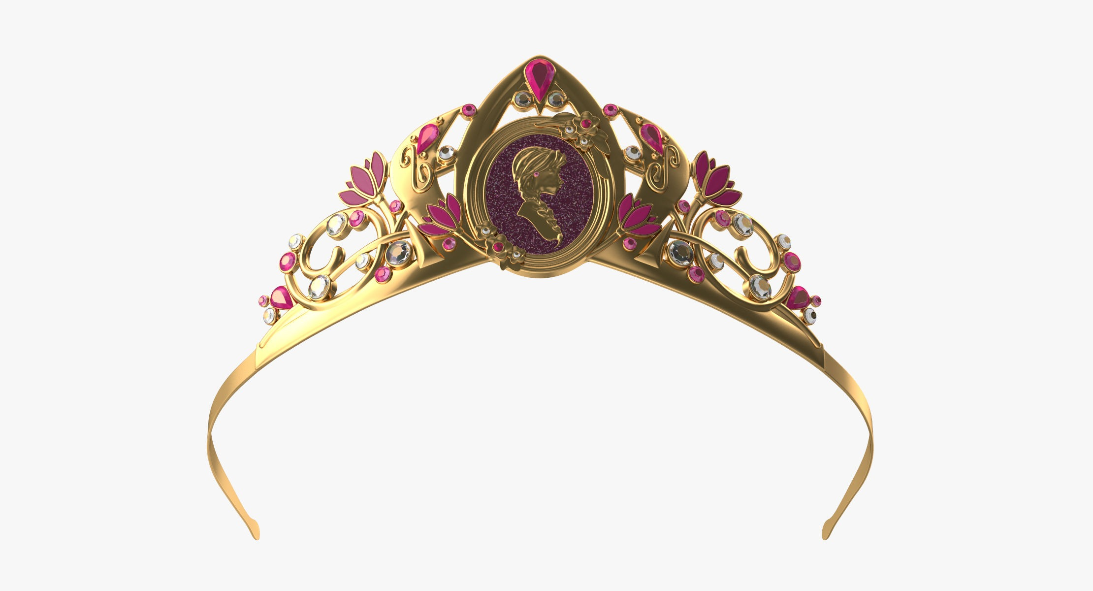 Anna Inspired Tiara - reel 1