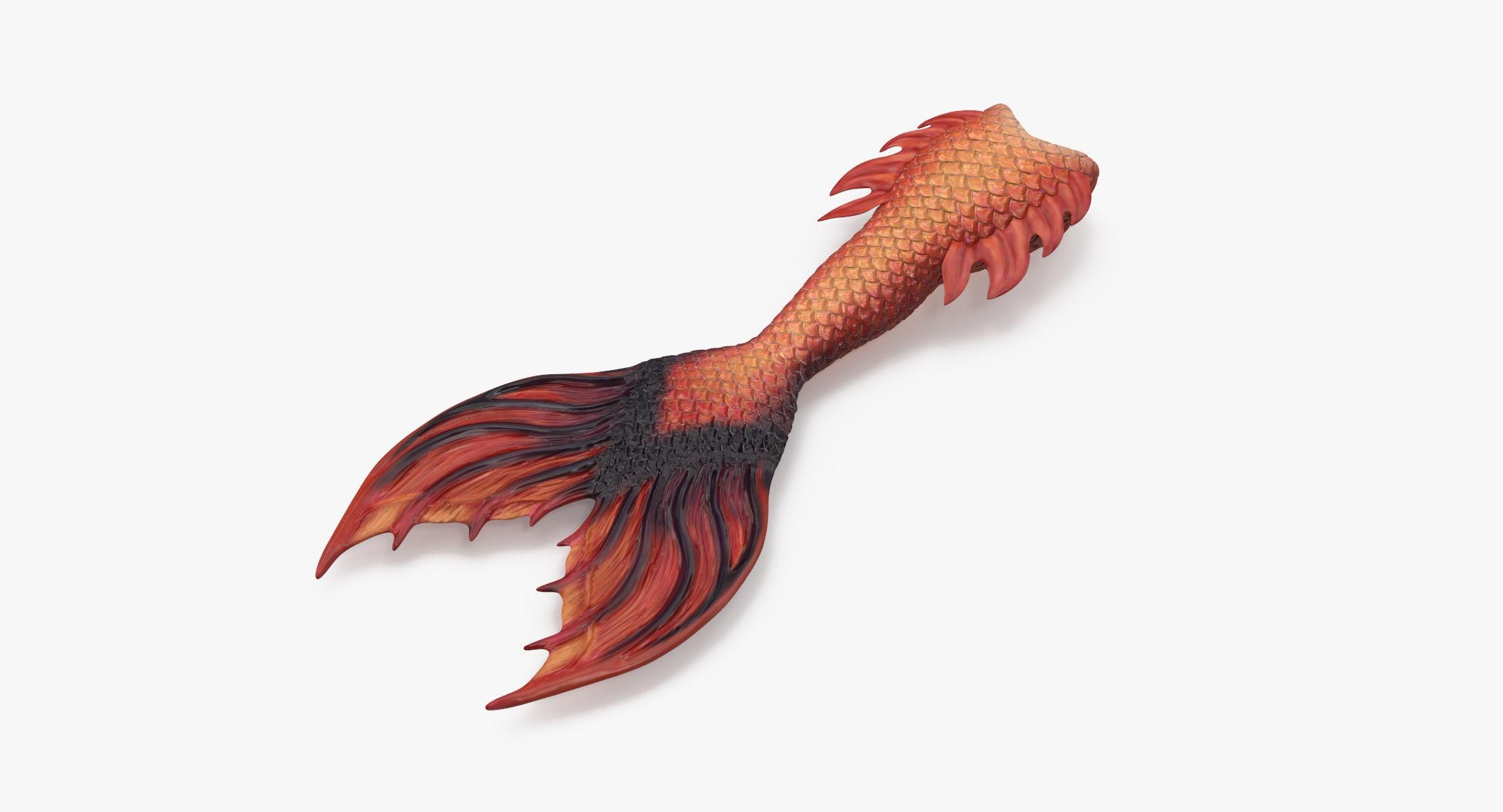Mermaid Tail 02 Straight - reel 1