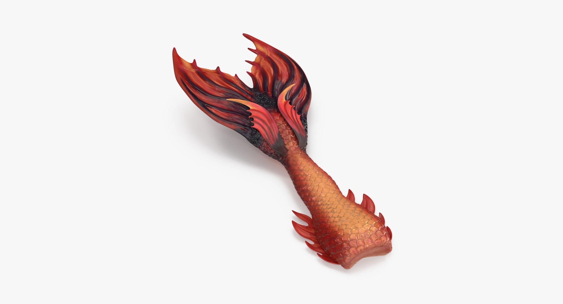 Mermaid Tail 02 Laying - reel 1