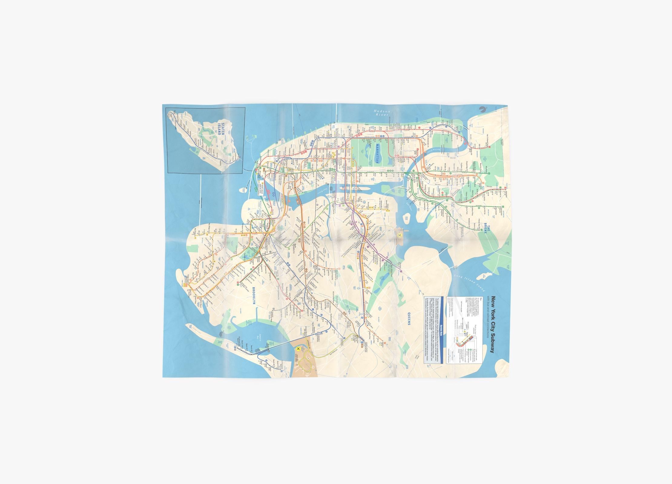 New York Subway Map 02 - reel 1