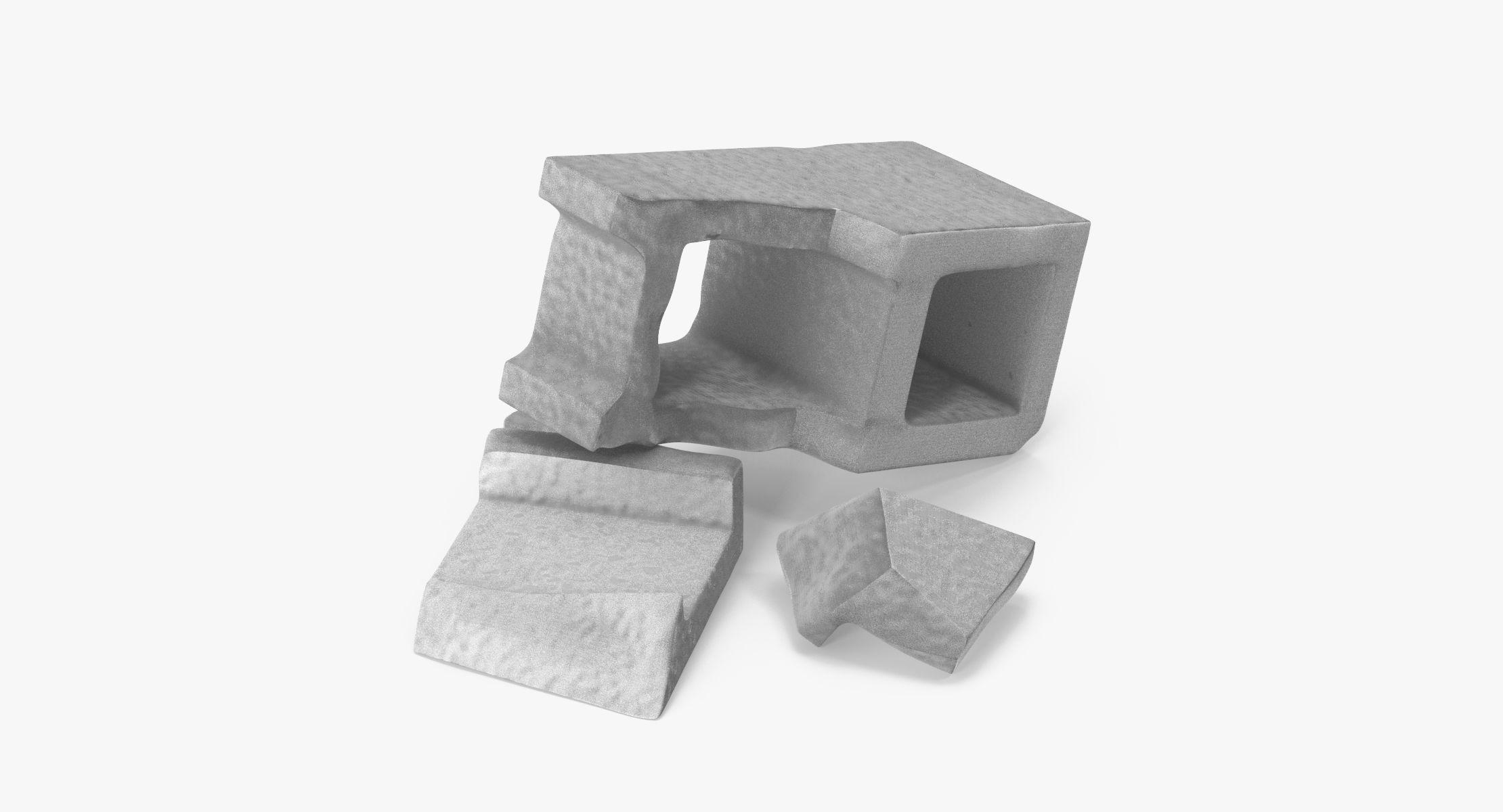 Cinder Block Broken 03 - reel 1