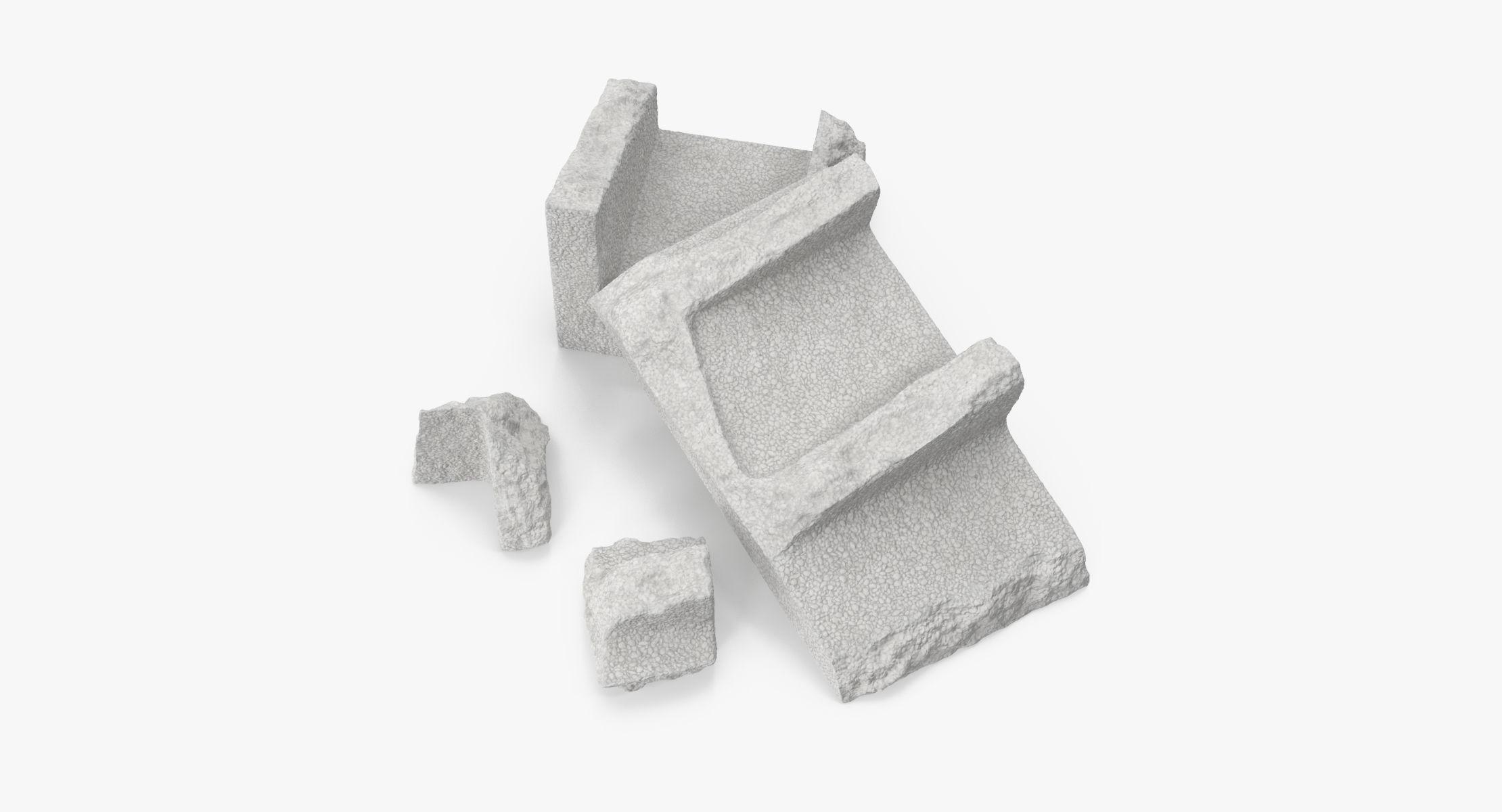 Cinder Block Broken 02 - reel 1