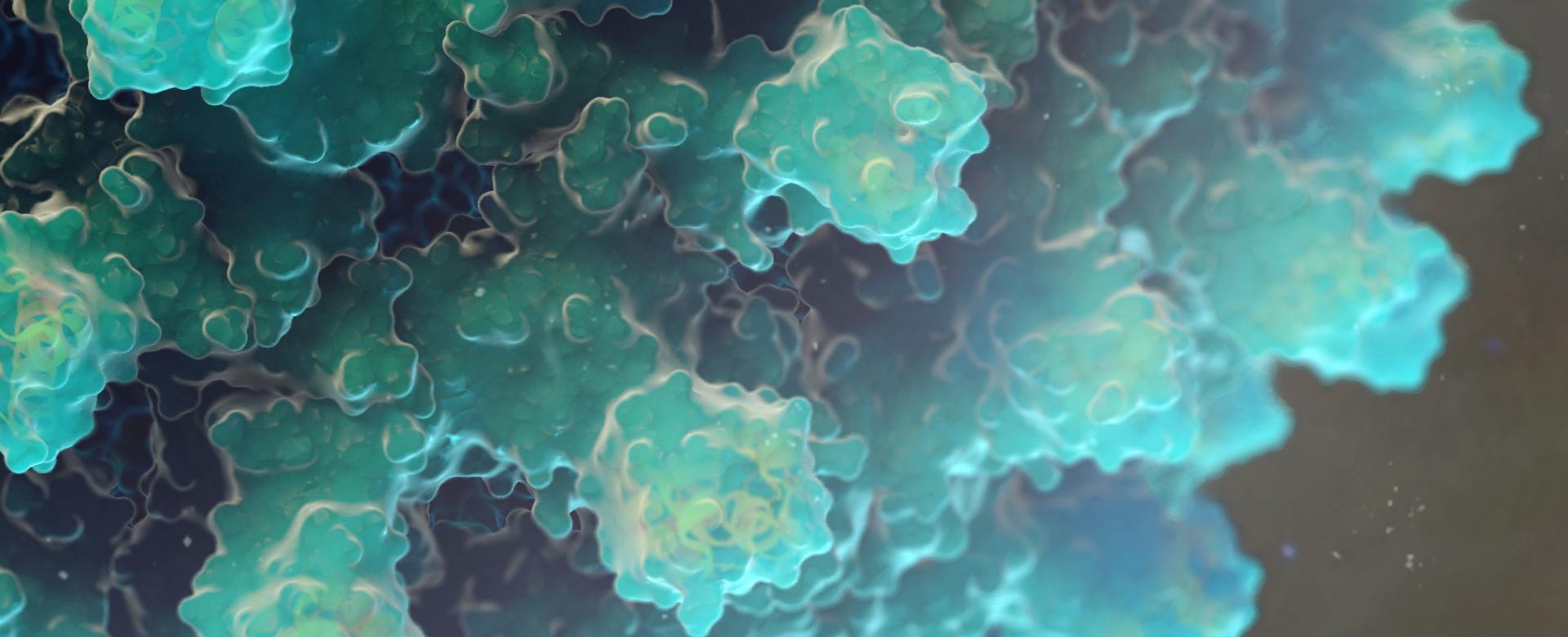 HBV Virus 3D Render