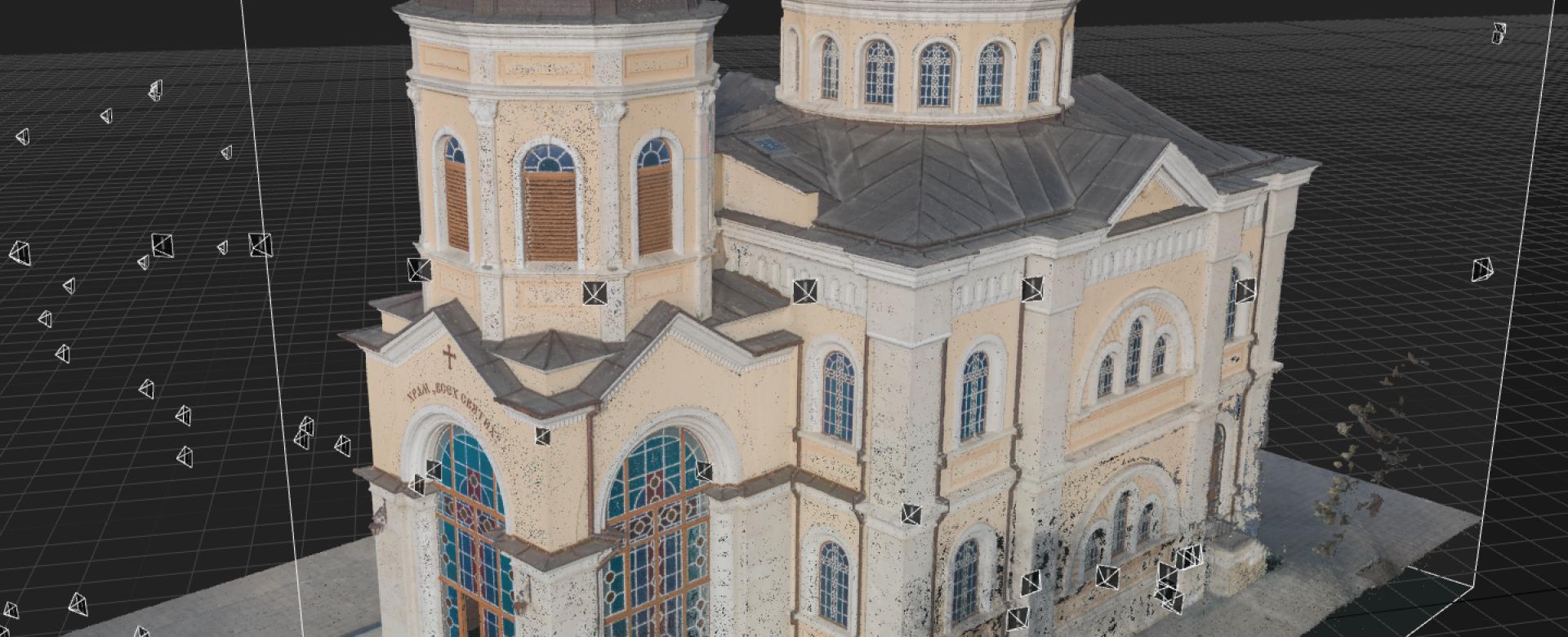 Church 3D Scan in Architecture